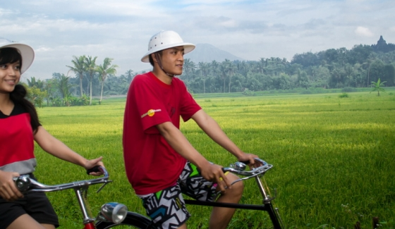 The Borobudur Biking Tour